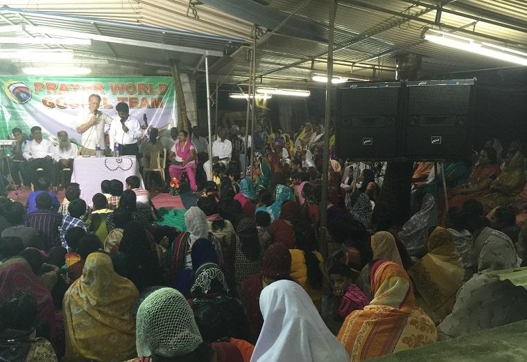 Proclaim the Gospel in Kerala home.