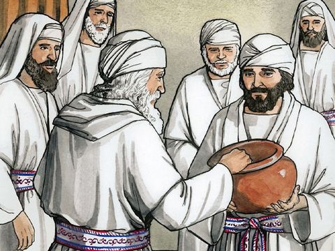 Zechariah chosen to offer incense